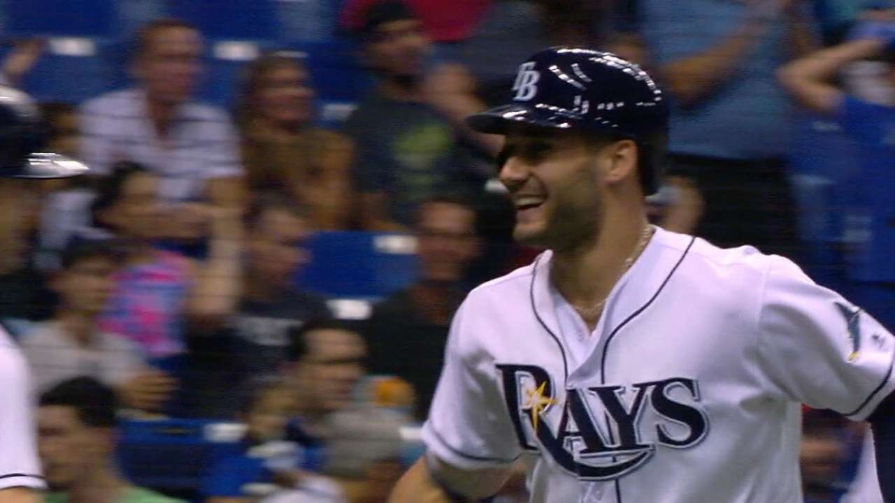 Slice of Kevin: Rays, Kiermaier make it official