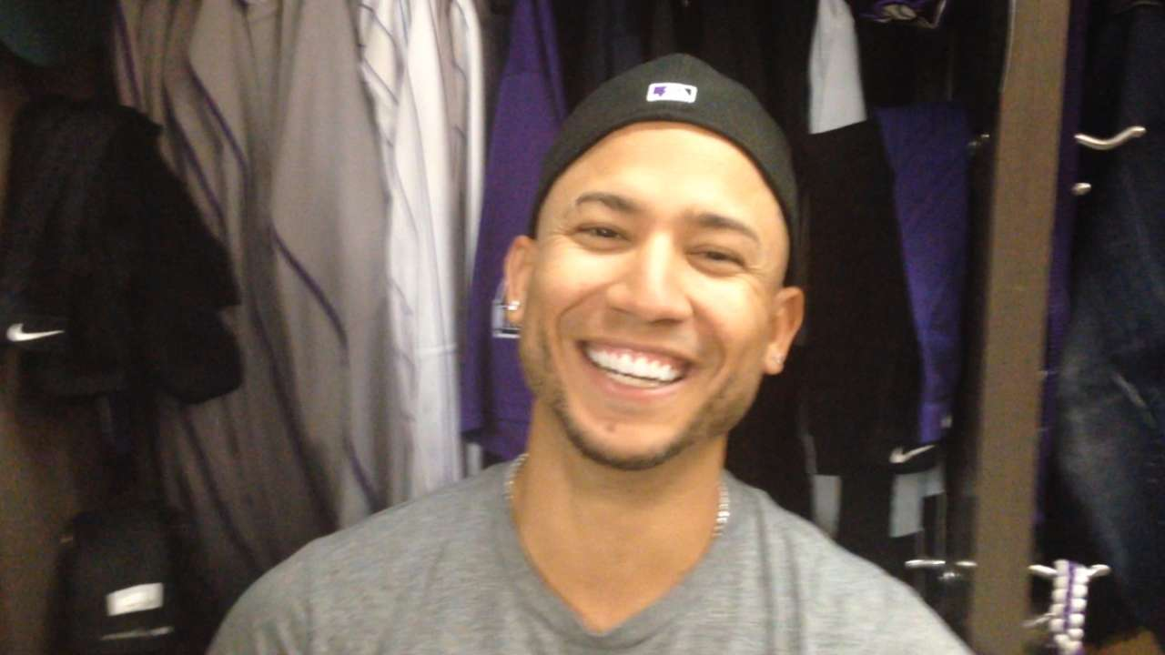 CarGo enjoys WBC '17, happy to rejoin Rockies