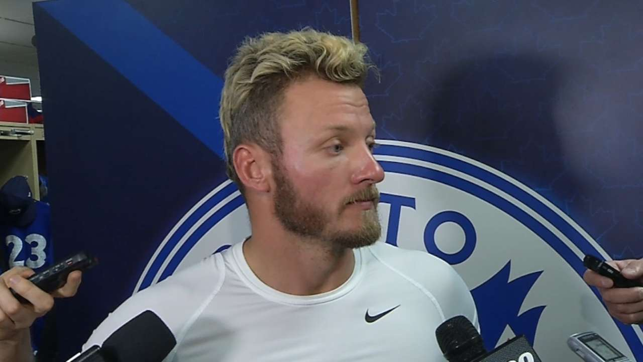 Donaldson delighted to be back in games