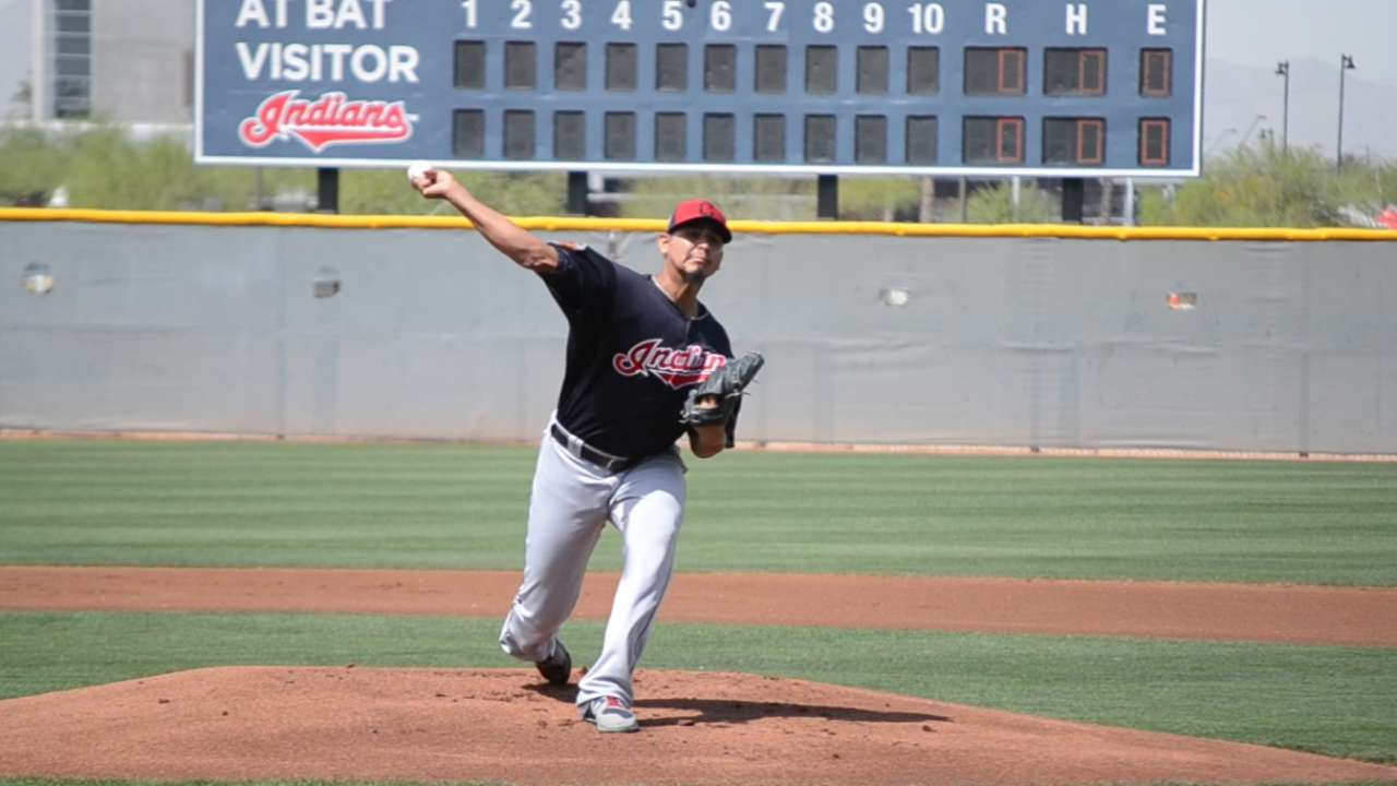 Carrasco exits Minor League start feeling good