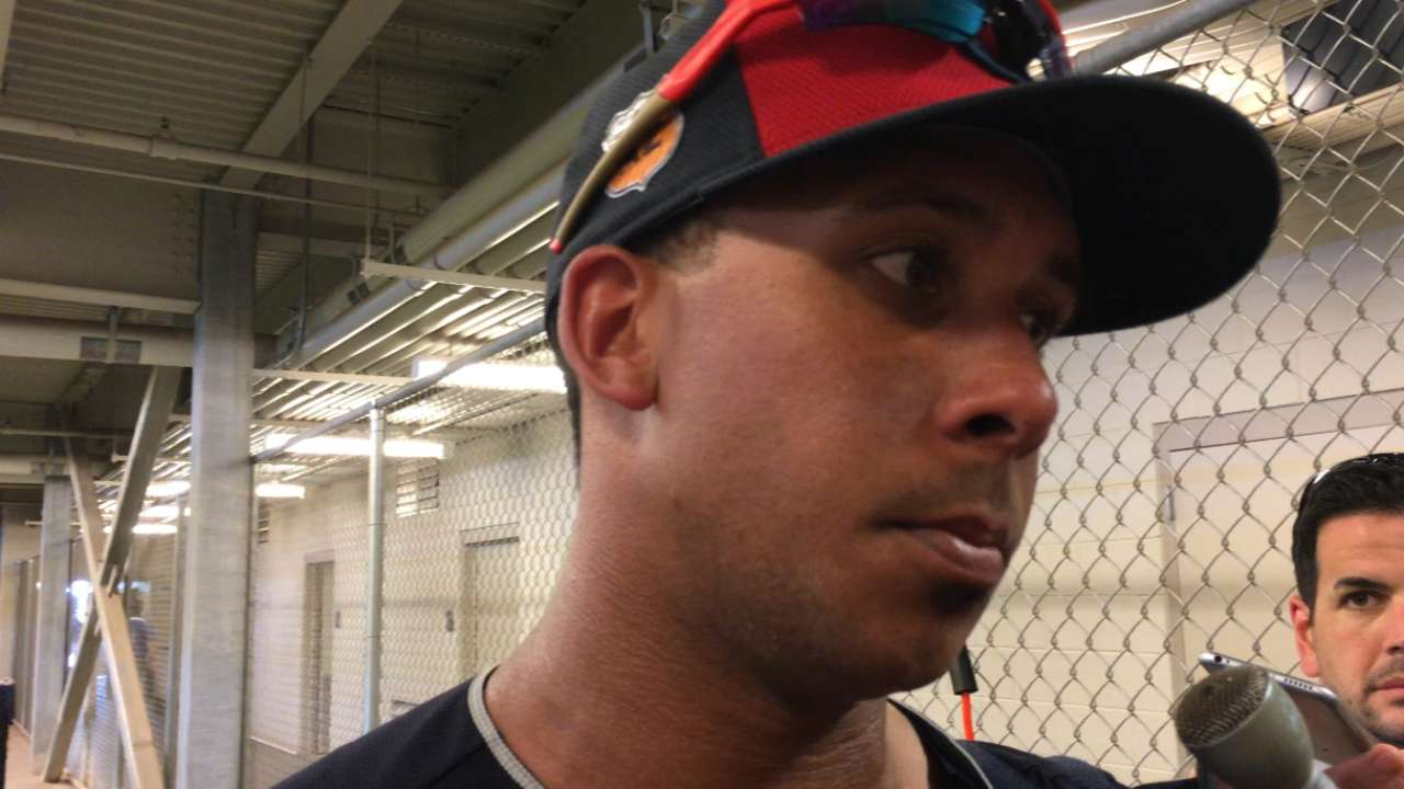 Brantley happy with spring debut