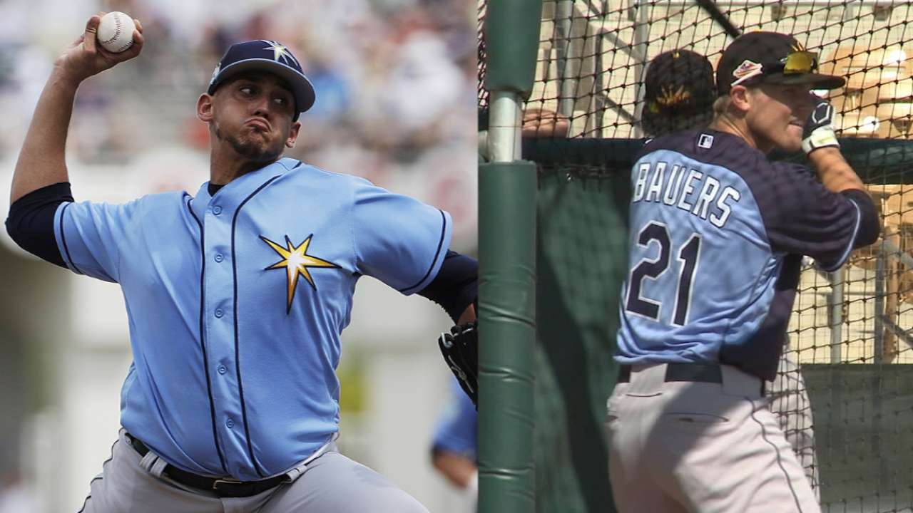 Where the Rays' Top 30 prospects are starting the season