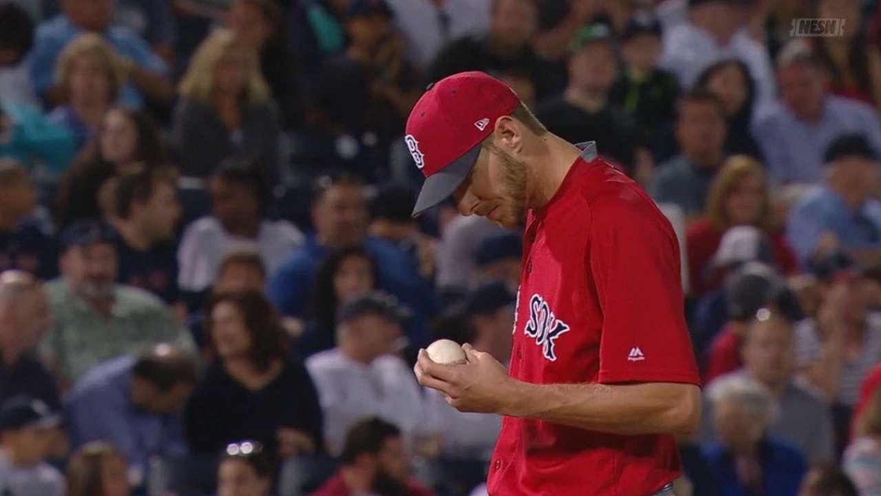 Sale K's 10 vs. Yankees