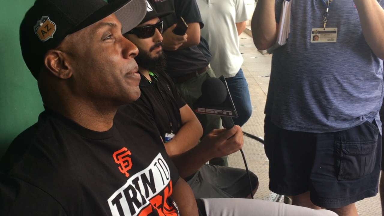 Bonds on new role with Giants