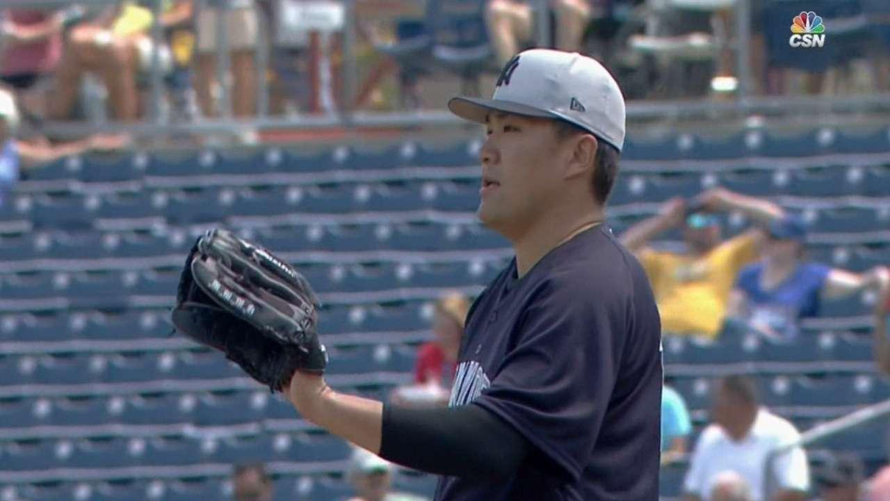 Tanaka's scoreless start