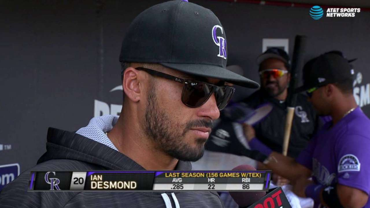 Desmond discusses his comeback