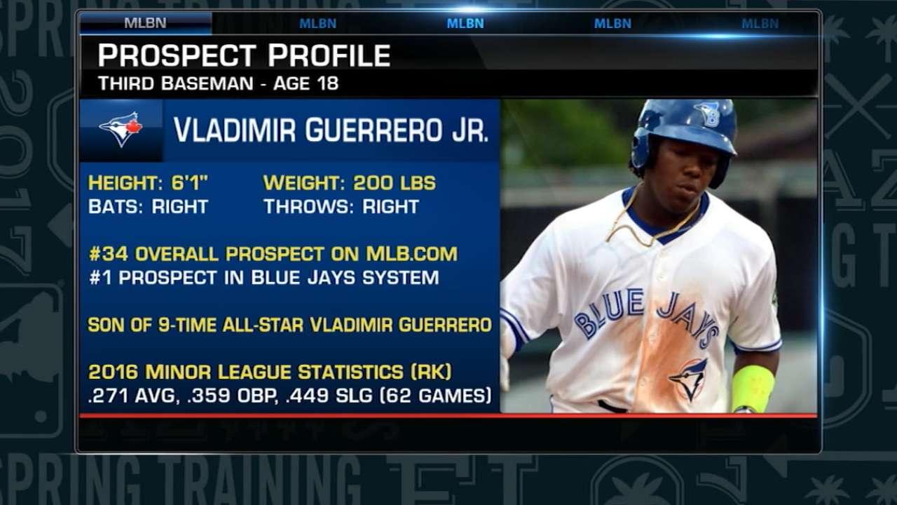 Guerrero Jr. tops Toronto's farm