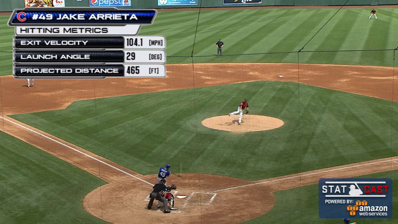 See Jake rake: Arrieta crushes 465-foot HR