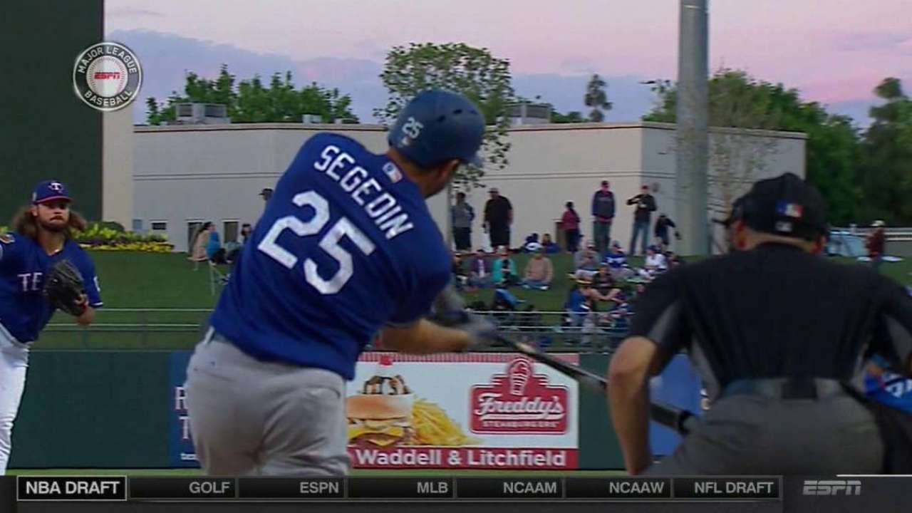 Segedin's solo home run