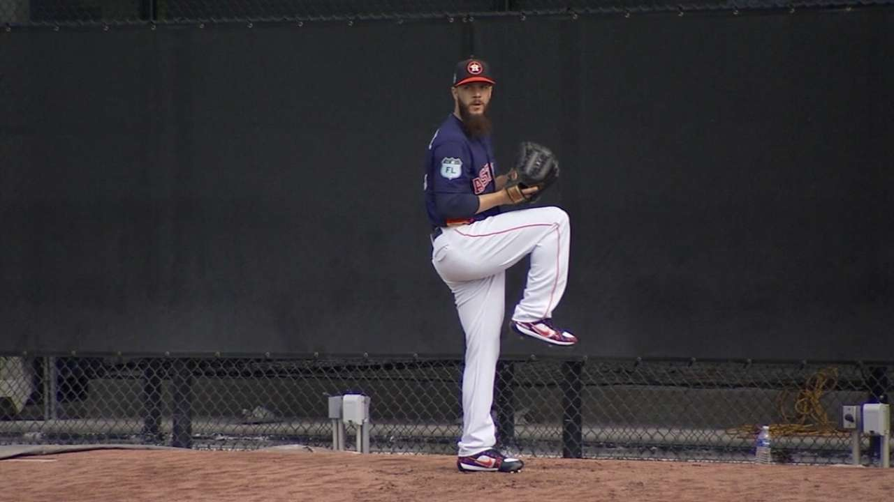 Hinch on Astros' rotation depth