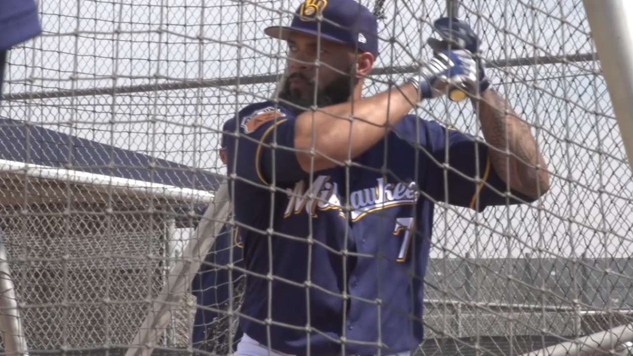 Predicting the Brewers Opening Day roster
