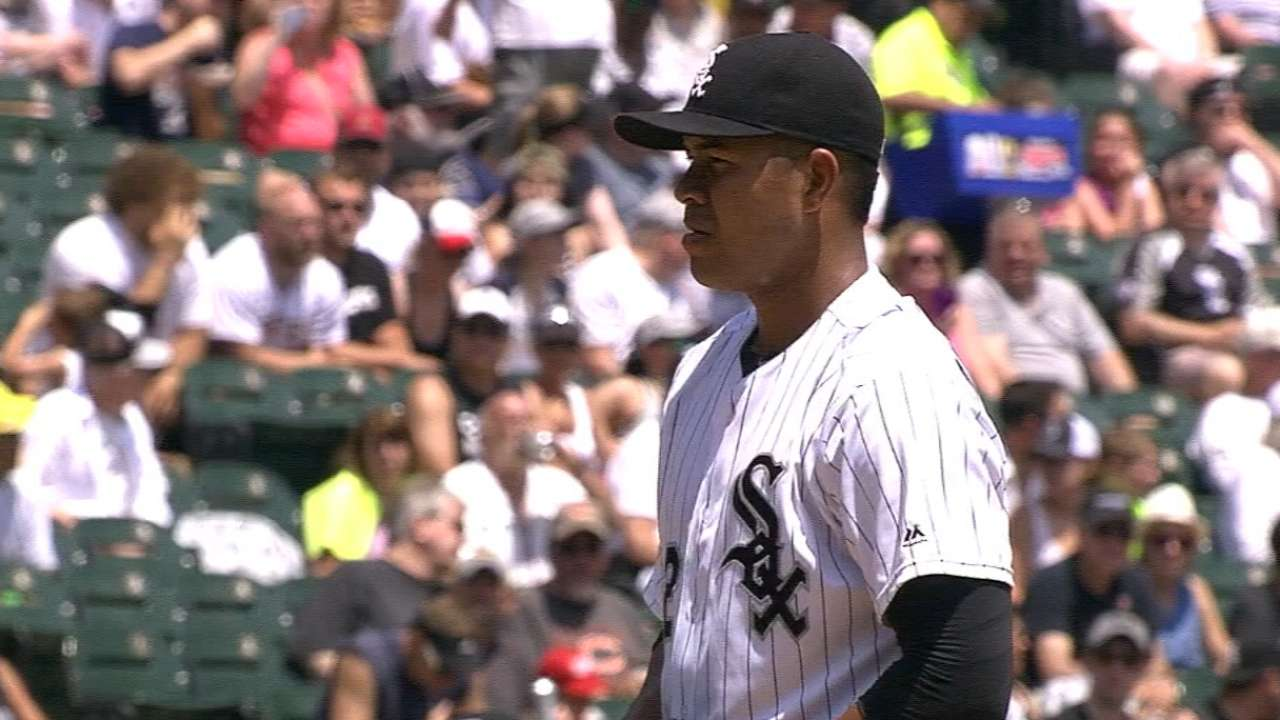 Sox tab Quintana for Opening Day