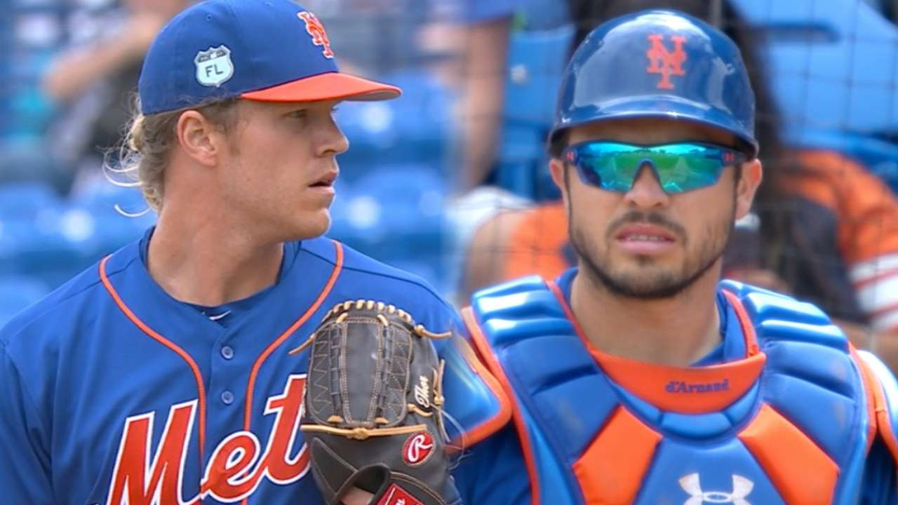 Thor, d'Arnaud on run game
