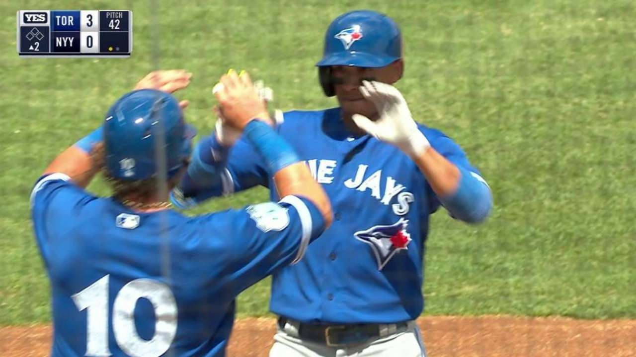 Blue Jays' roster holding to expectations