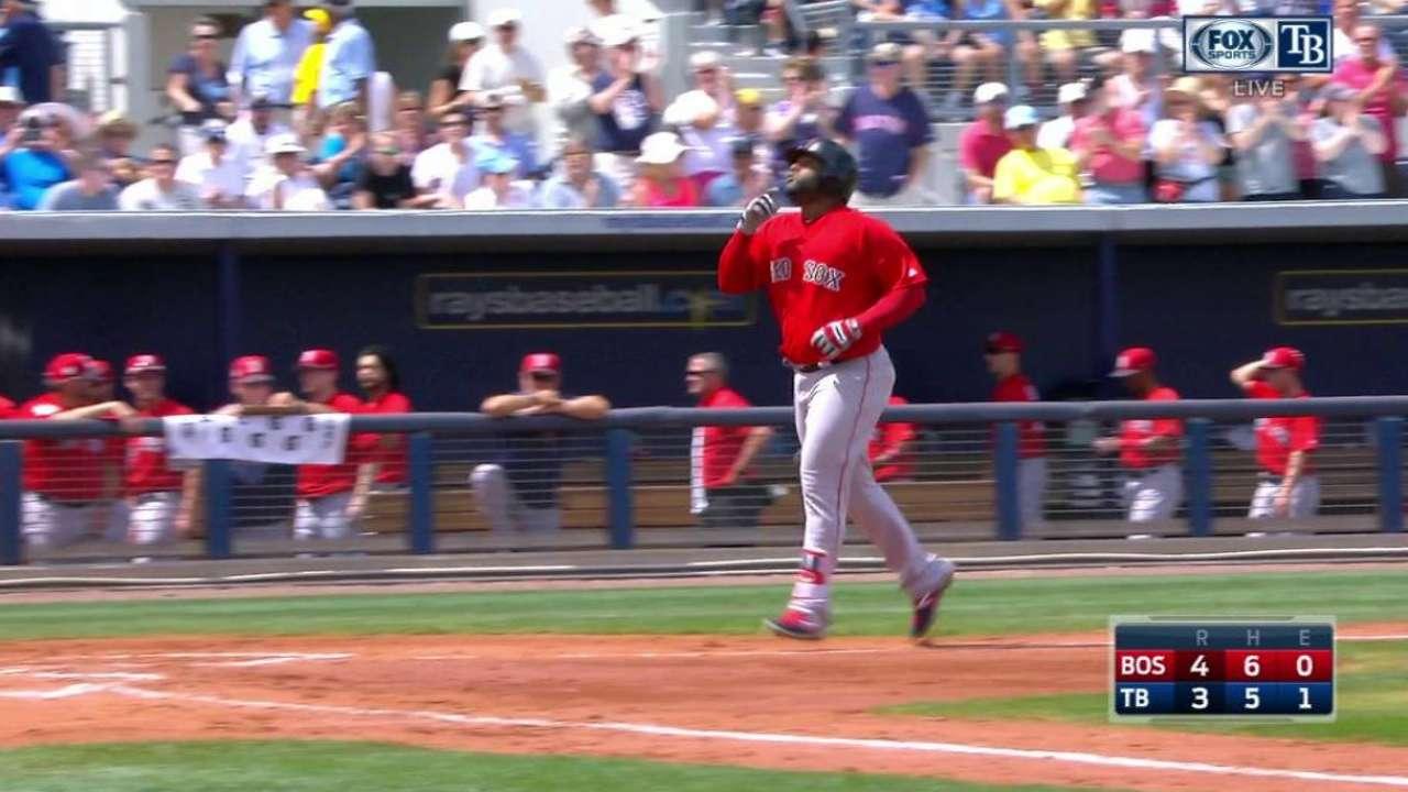 Sandoval's three-run shot
