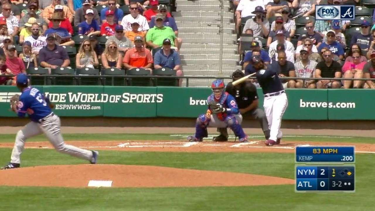 Montero strikes out Kemp