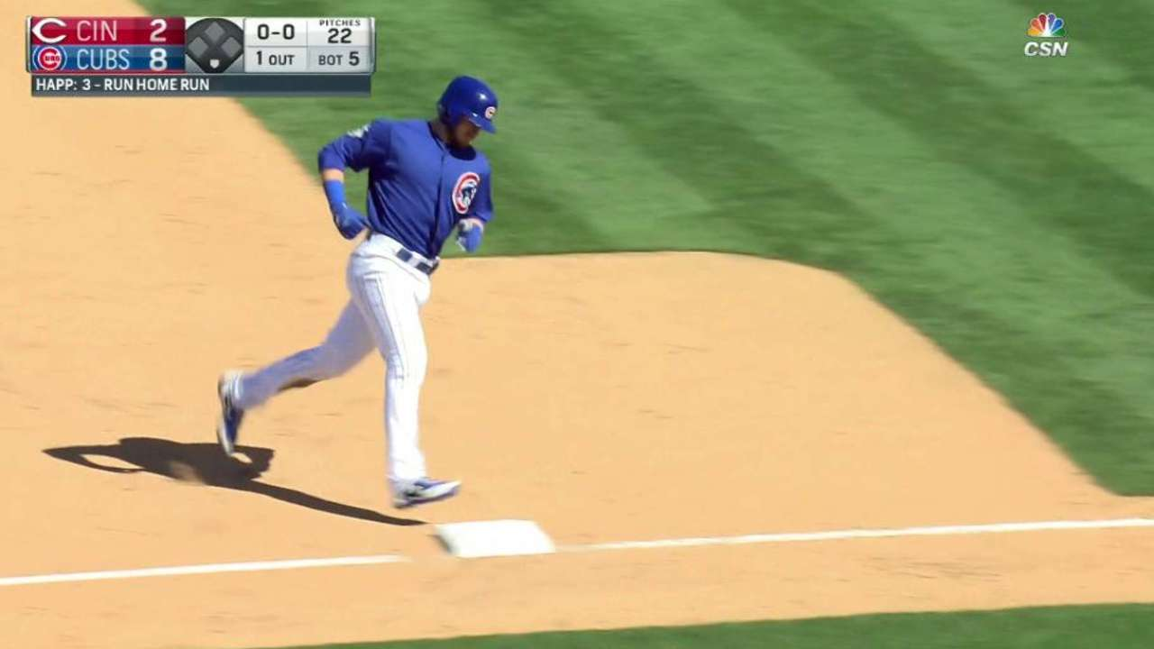 Happ's three-run homer
