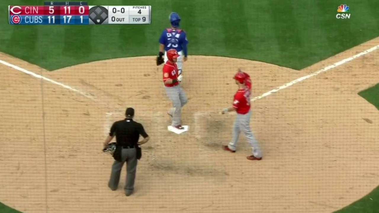 Hudson's two-run homer