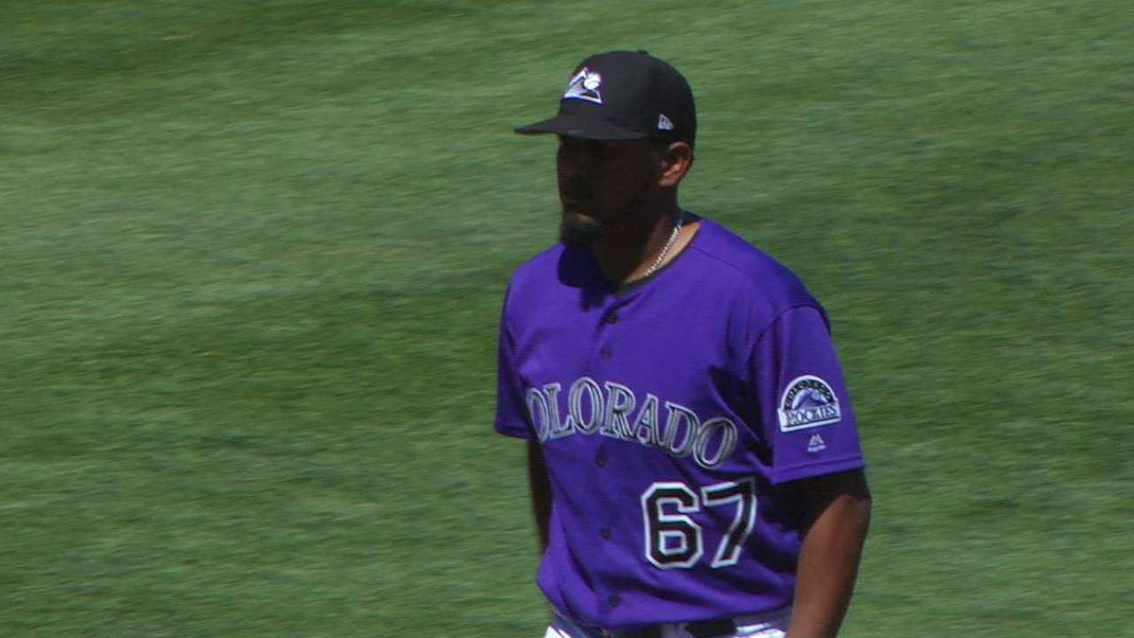 Rox prospects vying for open rotation spot