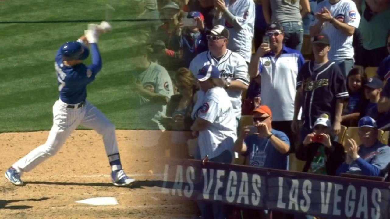 Bryant, prospects homer in Cubs' big frame