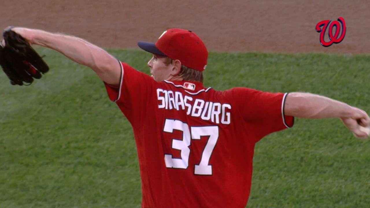 Strasburg gets Nats' Opening Day nod