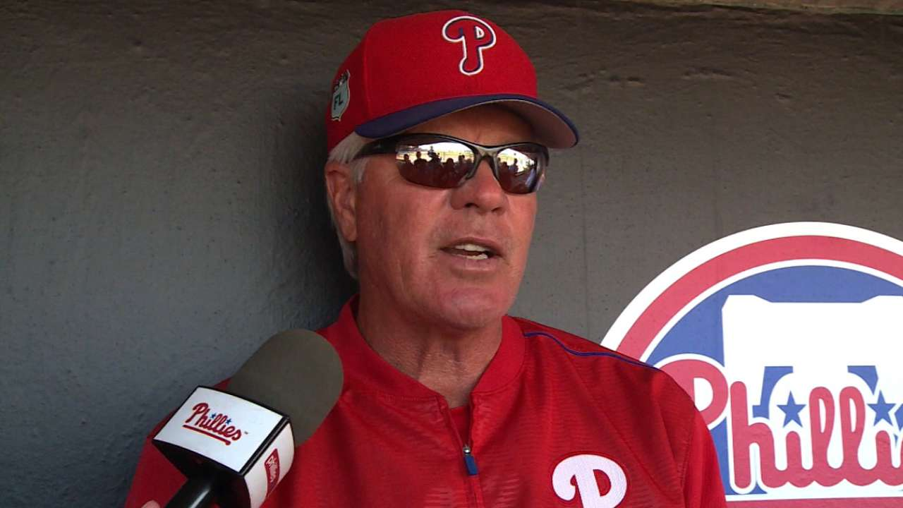 Phils' cuts put Knapp in line for backup catcher