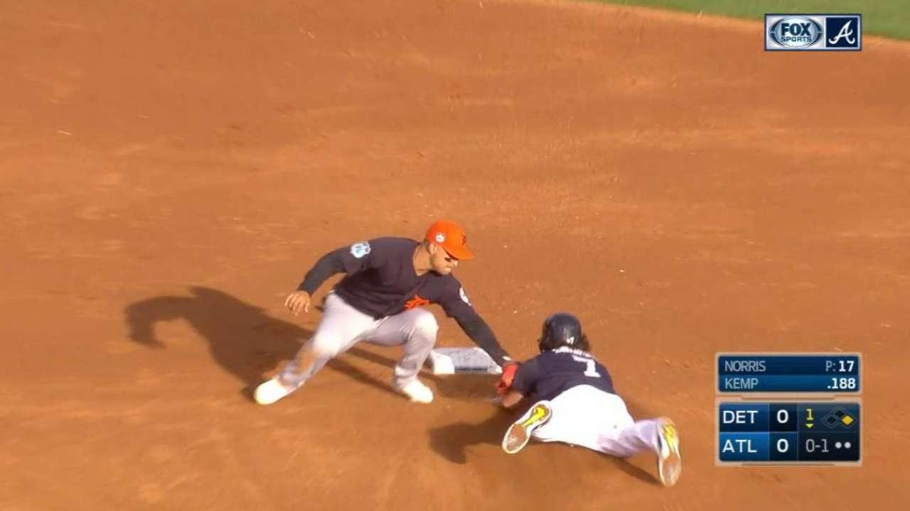 After rough outing, Norris cites 'dead arm'
