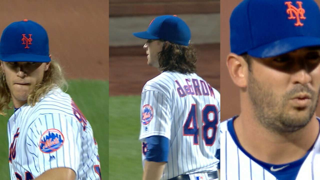 Mets' rotation full of potential