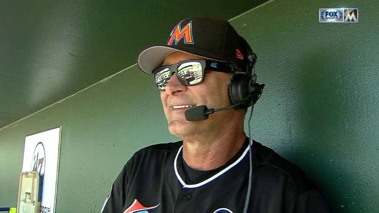 Marlins' mantra in '17: 'Little things' matter