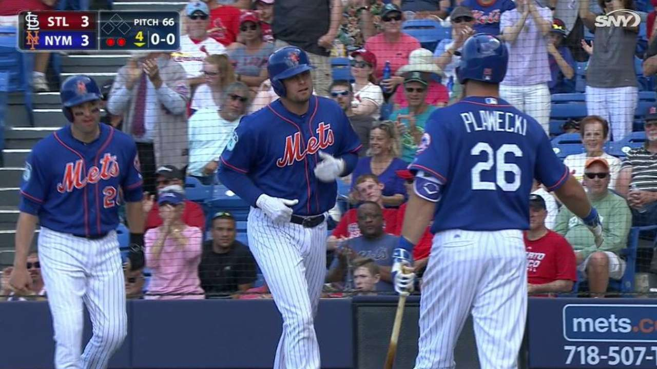 Duda's three-run homer