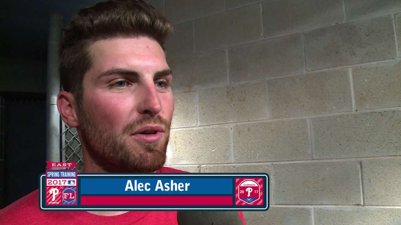 Asher 'ready for everything' after busy spring