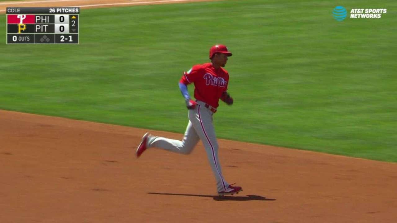 Altherr's solo home run