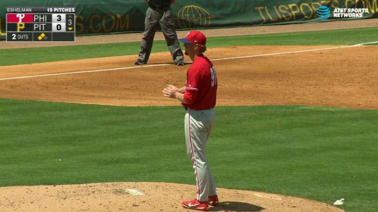 Kingery, Eshelman win Phillies' Minors awards