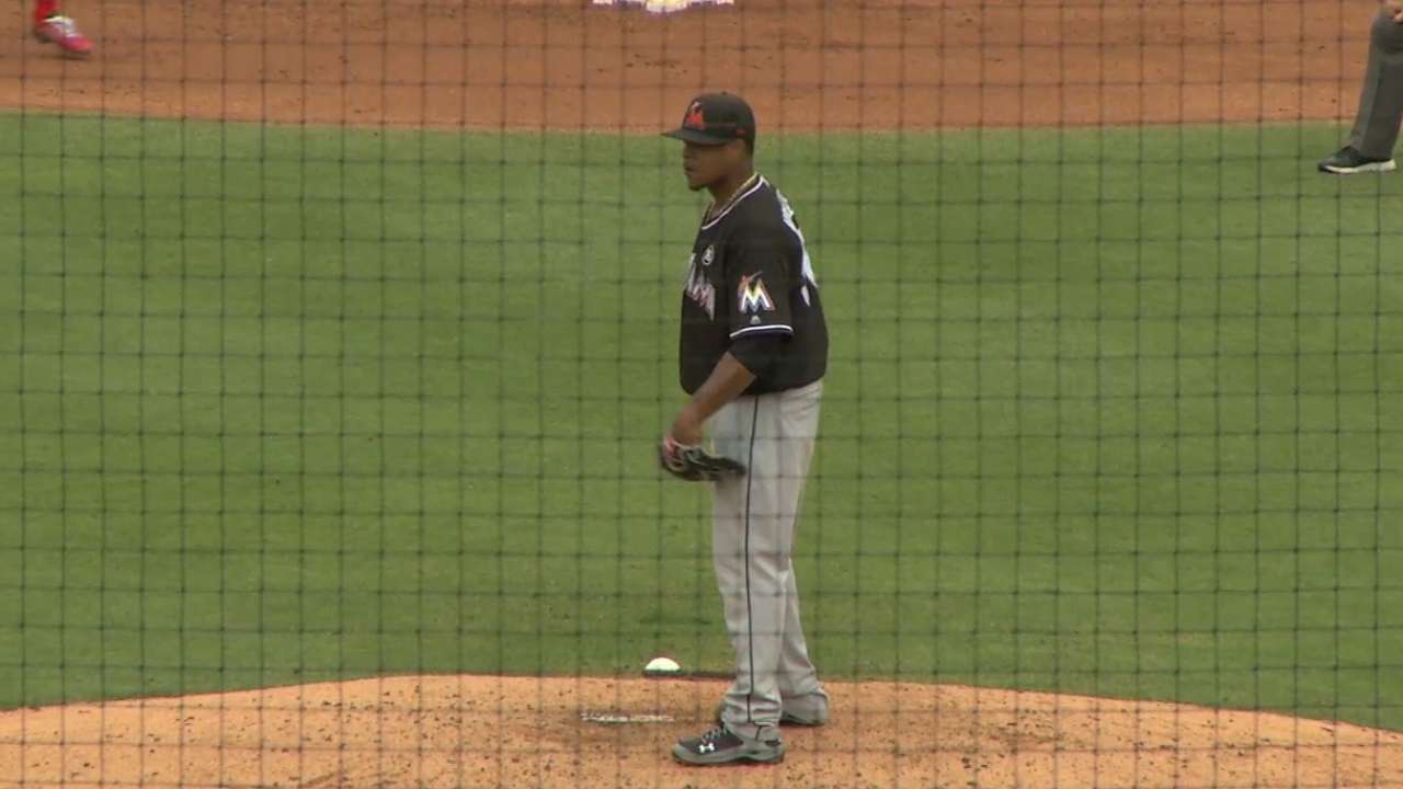 Steady Eddie: Volquez ready for opener