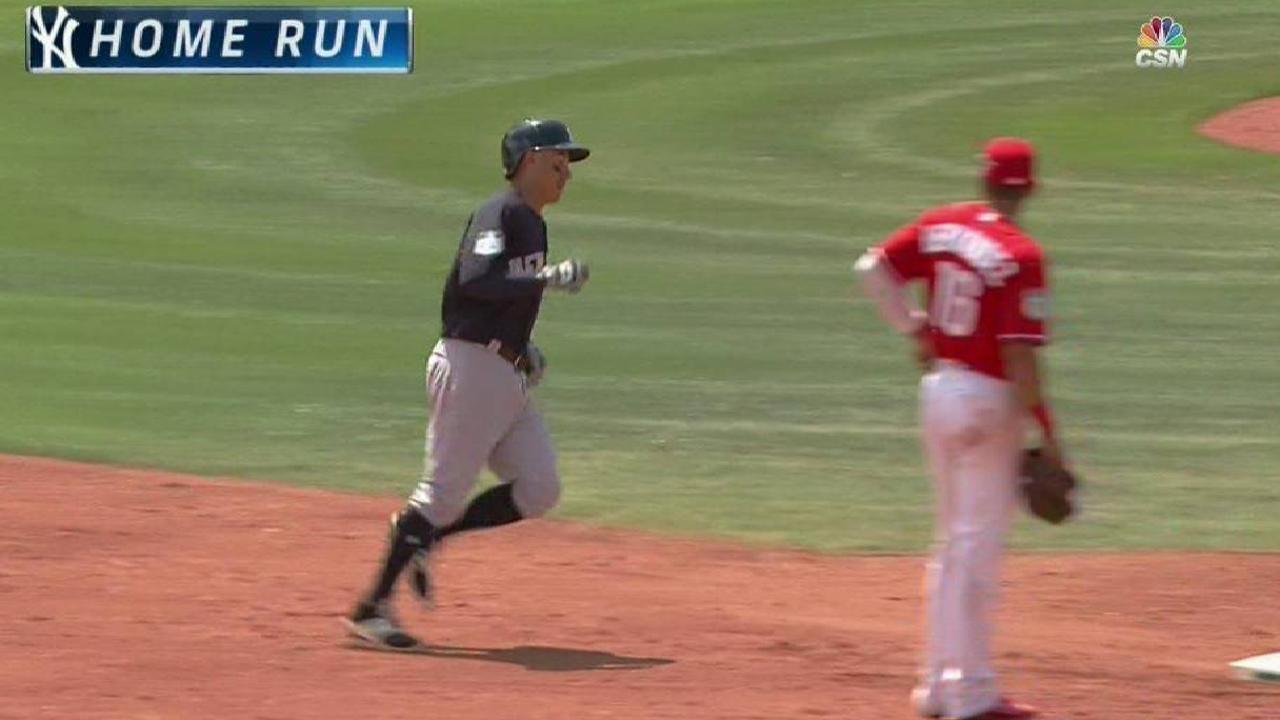 Torreyes' two-run home run