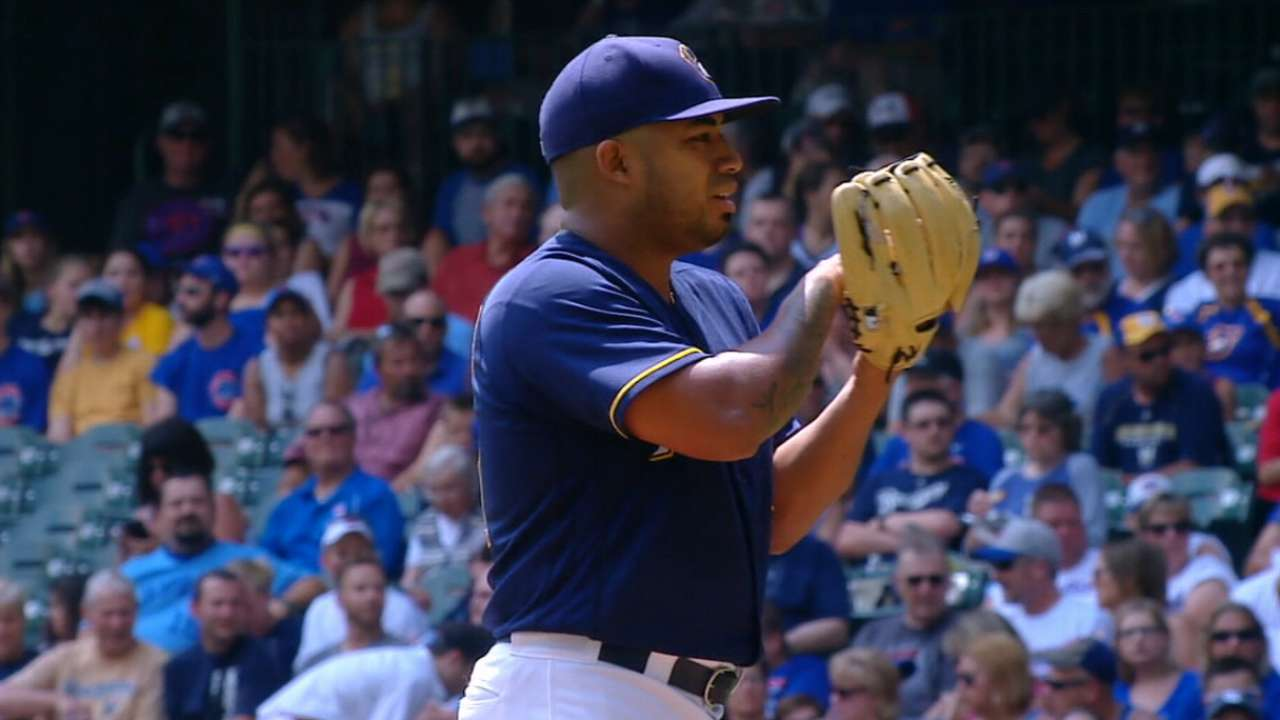 Brewers' roster reflects youth, potential
