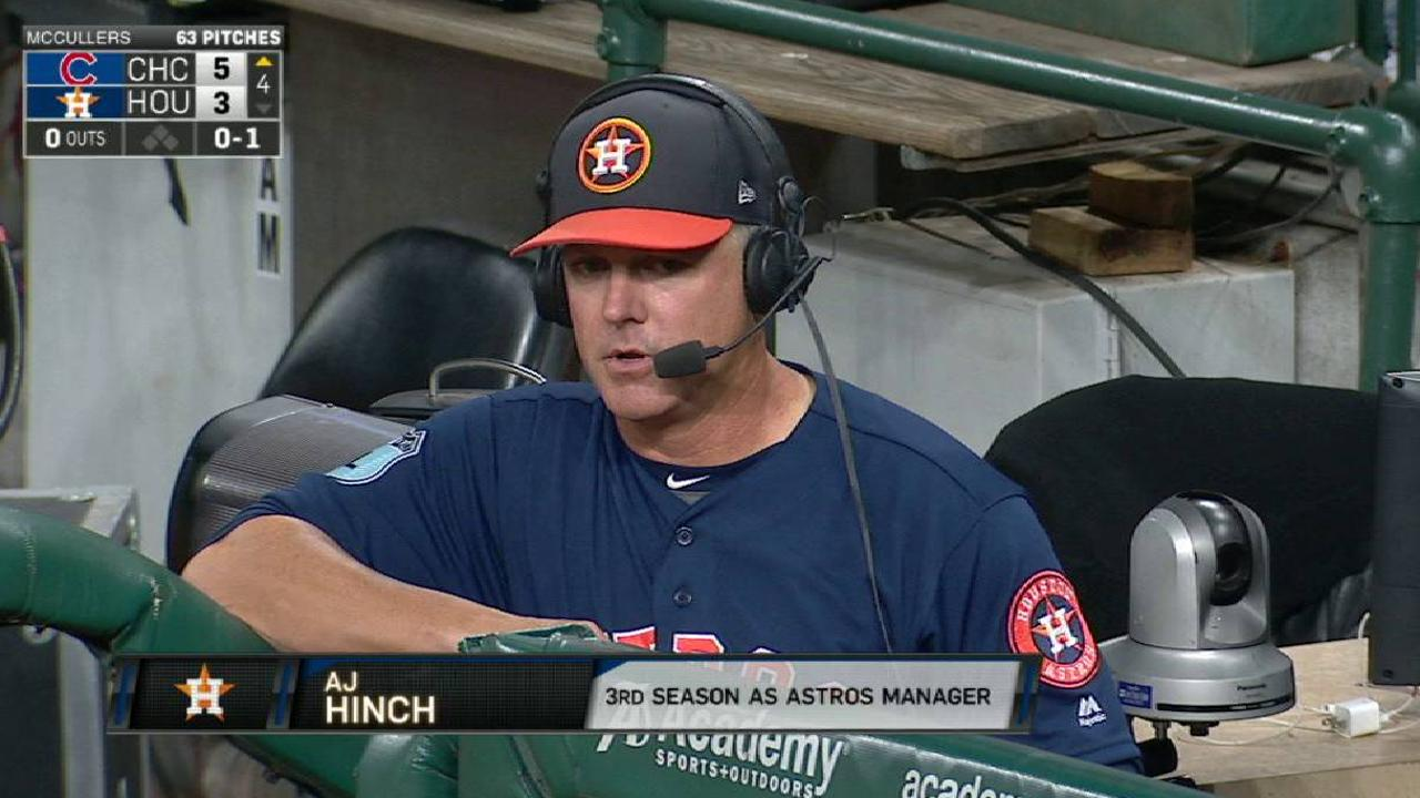 Health makes Astros' roster decisions easy