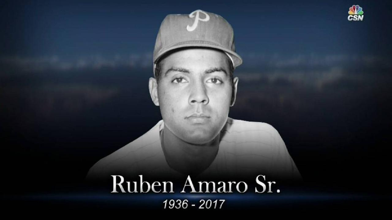 Phils' booth honors Amaro Sr.