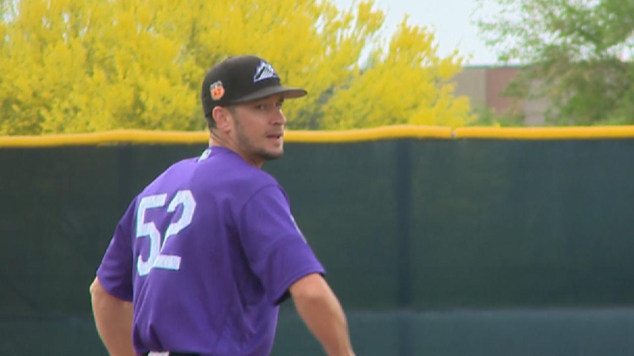 Rusin to pitch in Triple-A opener