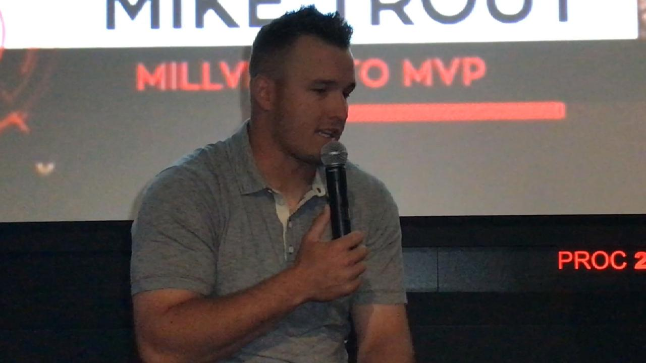 Mike Trout on desire to be best