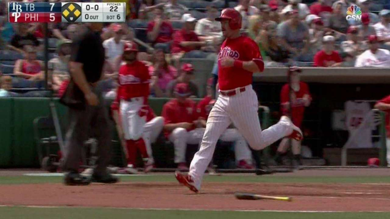 Rupp's two-run double