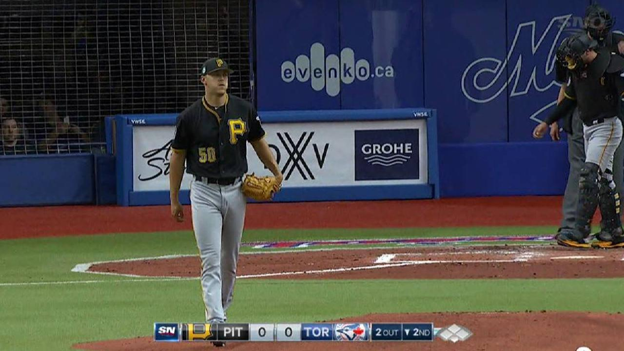 Taillon soaks up 'real' energy in Montreal
