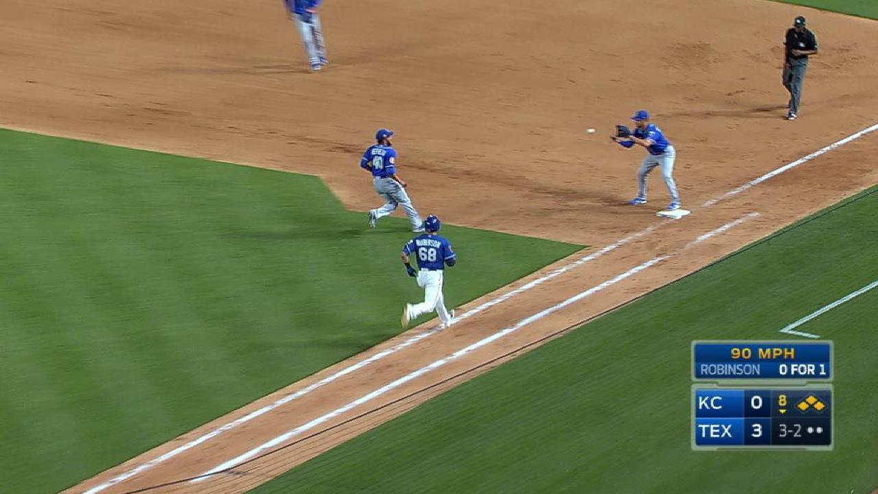 Royals' bullpen, defense display their talents
