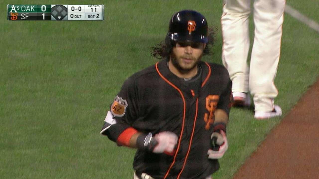 Crawford's solo home run
