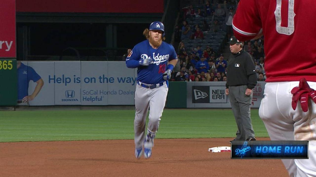 Turner, Hill help Dodgers even Freeway Series