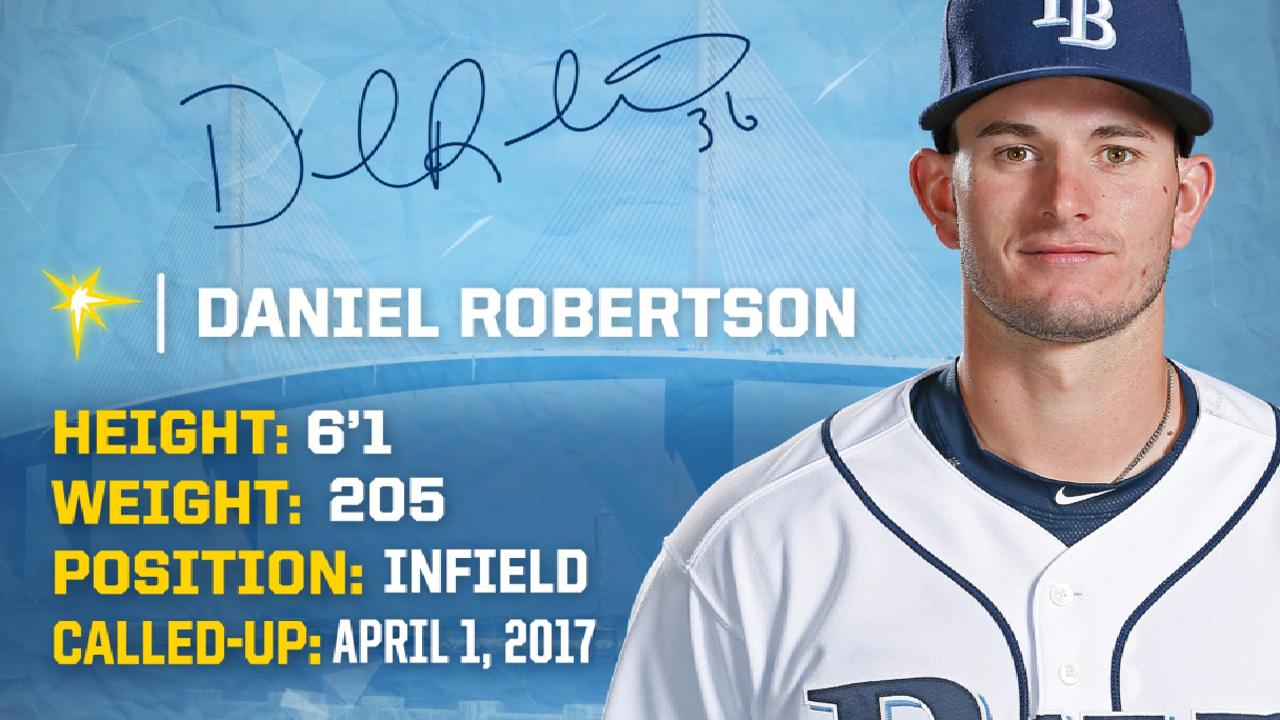 Daniel Robertson called up