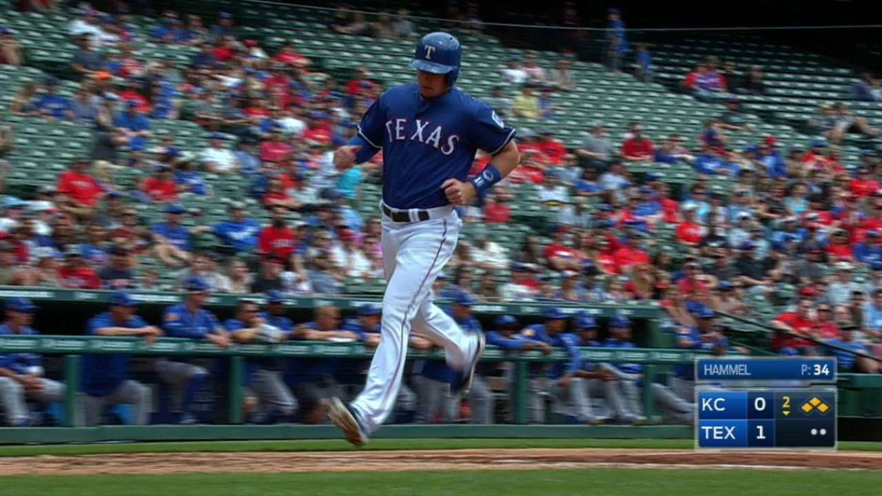 DeShields, Rangers top Royals to cap spring