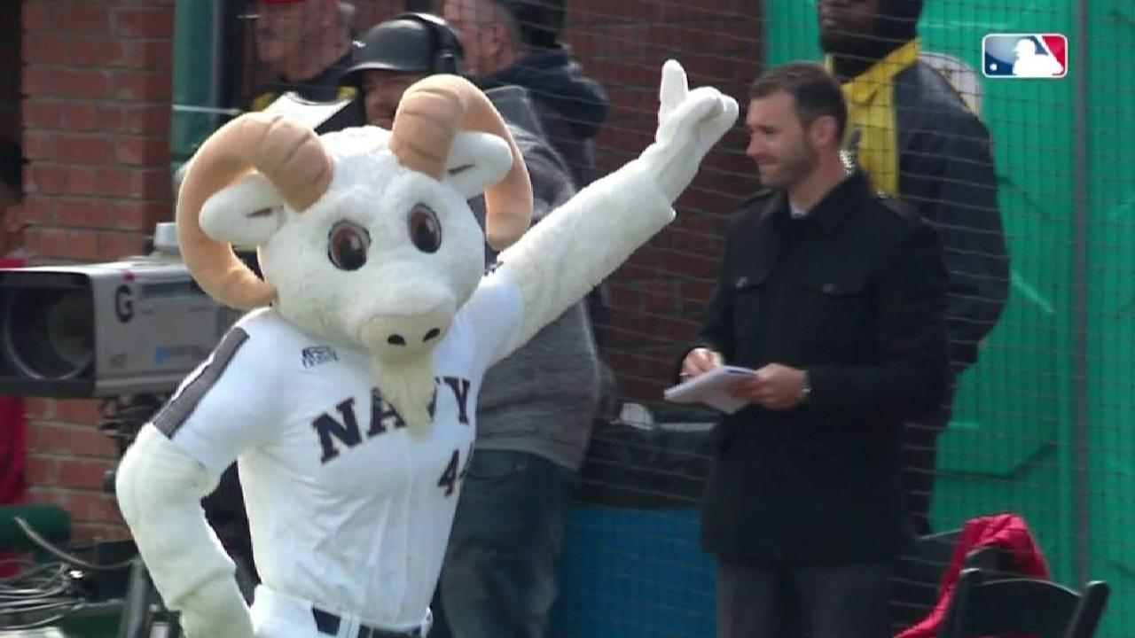 Navy mascot wins President race