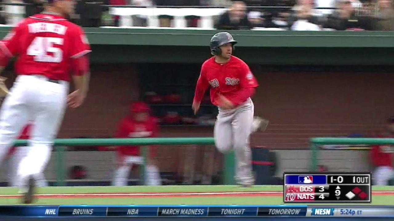 Sox, Nats cap ST with tie at Naval Academy