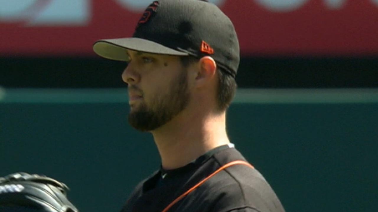 Beede joins ranks of injured Giants prospects